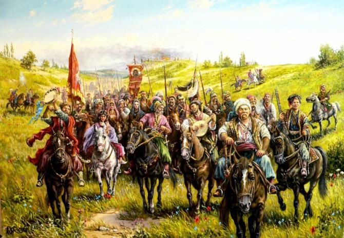 Українське військо в поході
